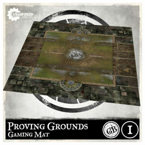 Steamforged Games - SFGMAT01 - Guild Ball Proving Grounds Game Mat 3 ft x 3 ft