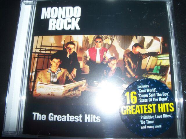 Mondo Rock (Ross Wilson) The Greatest Hits Very Best Of (Australia) CD – New