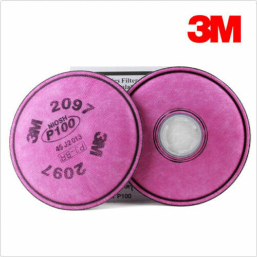New 50Packs 3M 2097 particulate filter P100 for 6000 7000 series respirator #7
