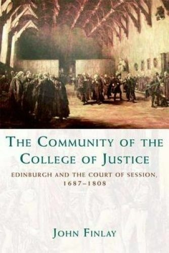 The Community of the College of Justice. Edinburgh and the Court of Session, 168