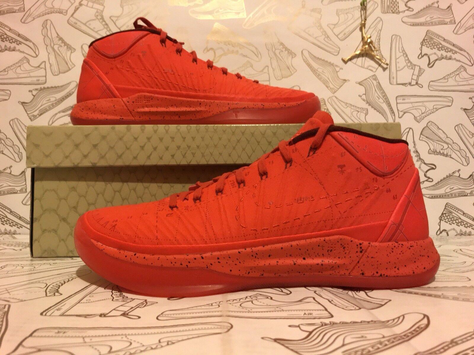 Nike spot habanero red mamba dalla passione di kobe 922482-600 sz rari