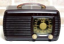 RADIO ZENITH 6D510 BROWN ANNO 1941 WAIMEA VINTAGE MODERNARIATO VALVOLE BAKELITE