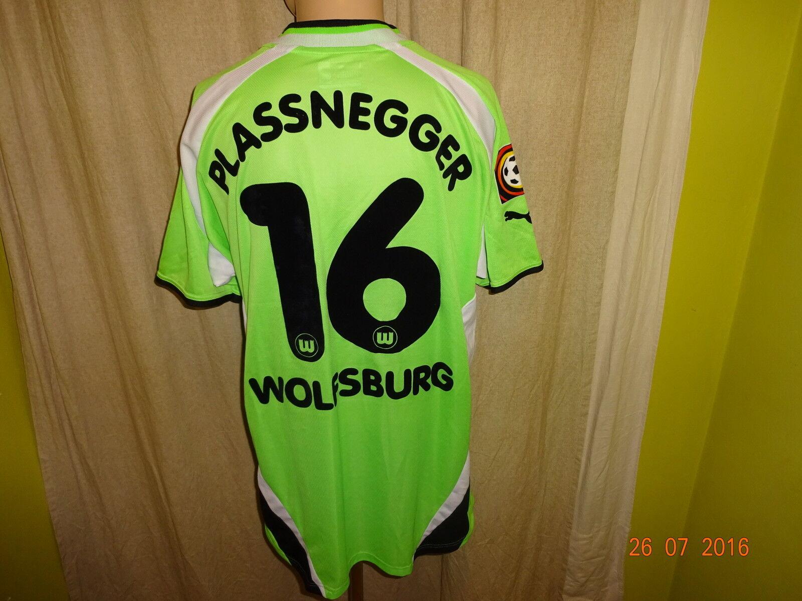 VfL Wolfsburg Puma Puma Puma Matchworn Trikot 2000/01