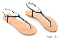 d037fb717c9f6 Hot Summer Boho Womens Floral Flip Flops Thong Sandals Flats Beach Shoes  Plus Sz