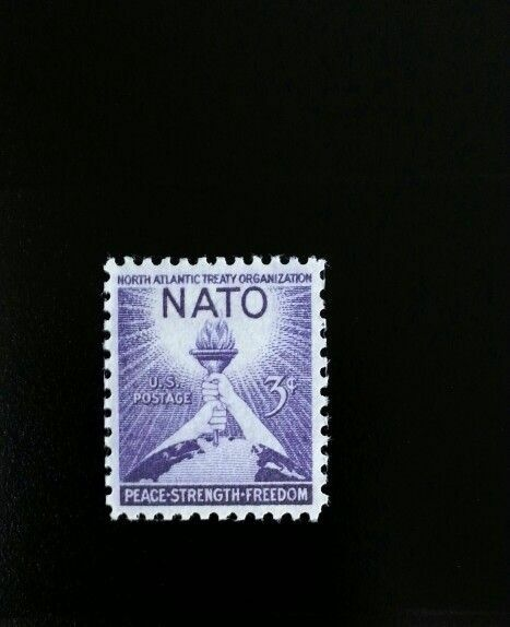 1952 3c North Atlantic Treaty Organization, NATO Scott