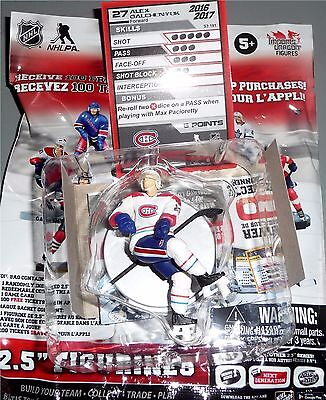 "Brent Burns San Jose Sharks Gold Série 2.5/"" 3 NHL Imports Dragon Figure Loose"