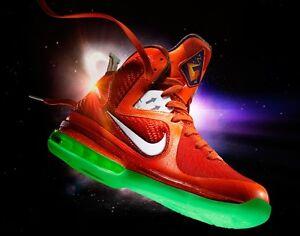 Nike Lebron 9 All Star Us 7.5 Uk 6.5 40.5 Galaxy Big Bang Space Exploration As-afficher Le Titre D'origine