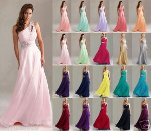 One-shoulder-Chiffon-Bridesmaid-Dress-Formal-Evening-Ball-Gown-Party-Prom-6-18