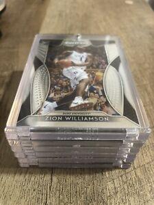 Zion Williamson ROOKIE CARD PANINI PRIZM 2019-20 INSERT DRAFT PICKS RC #64 Mint!