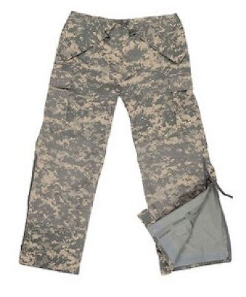 US Ecwcs Pantalon Army Ucp Acu At Digitalt Cold Wet Weather Pants M