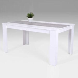 Esstisch-Lilo-Tisch-Esszimmertisch-Kuechentisch-in-Weiss-Beton-140x80-cm
