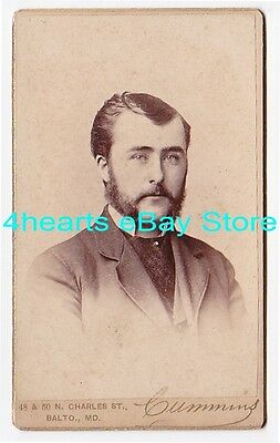 G16-1108 Paul Campbell - NY & Edenton, NC - 1883 Univ of Maryland DDS - id'd