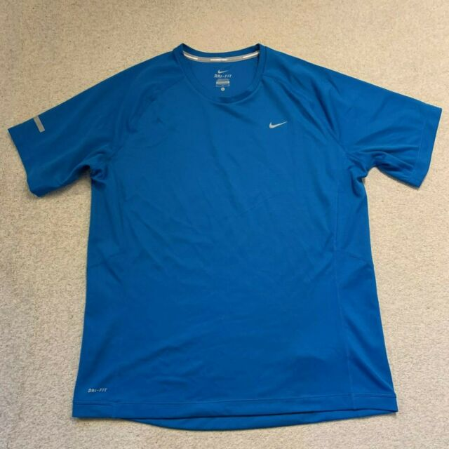 NIKE COOL COMPRESSION RUNNING TOP BLUE ADULTS SIZE EXTRA LARGE BNWT £14.99