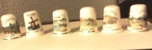 6-X-China-Thimbles-from-different-locations-Collectable