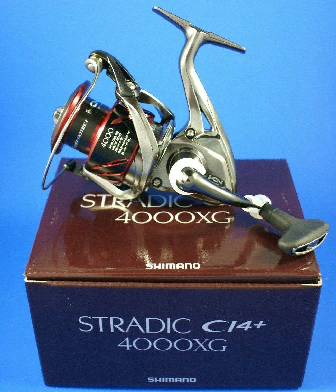 Shimano Stradic Ci4+ 4000XG FB stci 44000XGFB       Carrete de pesca de arrastre frontal