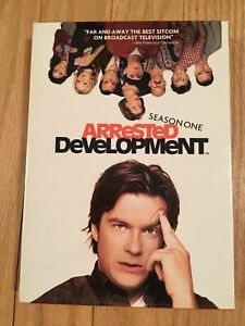 ARRESTED-DEVELOPMENT-BOX-SET-COMPLETE-FIRST-1-SEASON-USED-FREE-S-H-M3