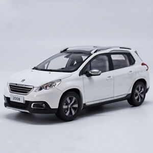 Peugeot 2008 Suv >> Details About 1 18 Scale Peugeot 2008 Suv White Diecast Car Model Toy Collection
