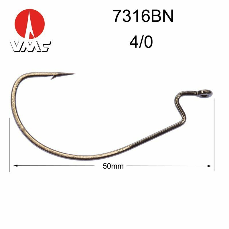 Texan Offset 3.5-4.5-7-9g Fishing Lead Mould  /Weighted Worm Hook Hook Hook weedless hook 64f799