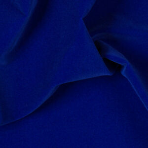 Royal Blue Velvet Flocking Drapery Upholstery Fabric Sold By The