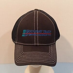 3e72e9326 Details about Boundary Trails Driving Academy Baseball Truckers Dad Hat Cap