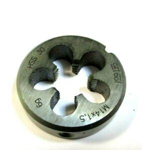 Filiere-M14-X-1-5-Filetages-a-Pas-Fins-Iso-Din-13-HSS-Qualite