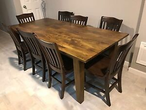 Details About Basque Honey 82 Dining Table Width Depth 38 Height 29 5