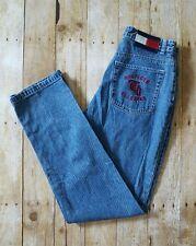 Vintage Womens Tommy Hilfiger Jeans 90's Pocket Flag Big Logo High Waist