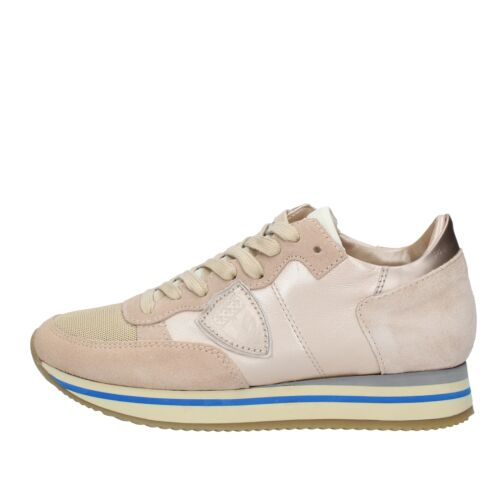 AMF6_PMOD Scarpe Sneakers PHILIPPE MODEL donna Beige