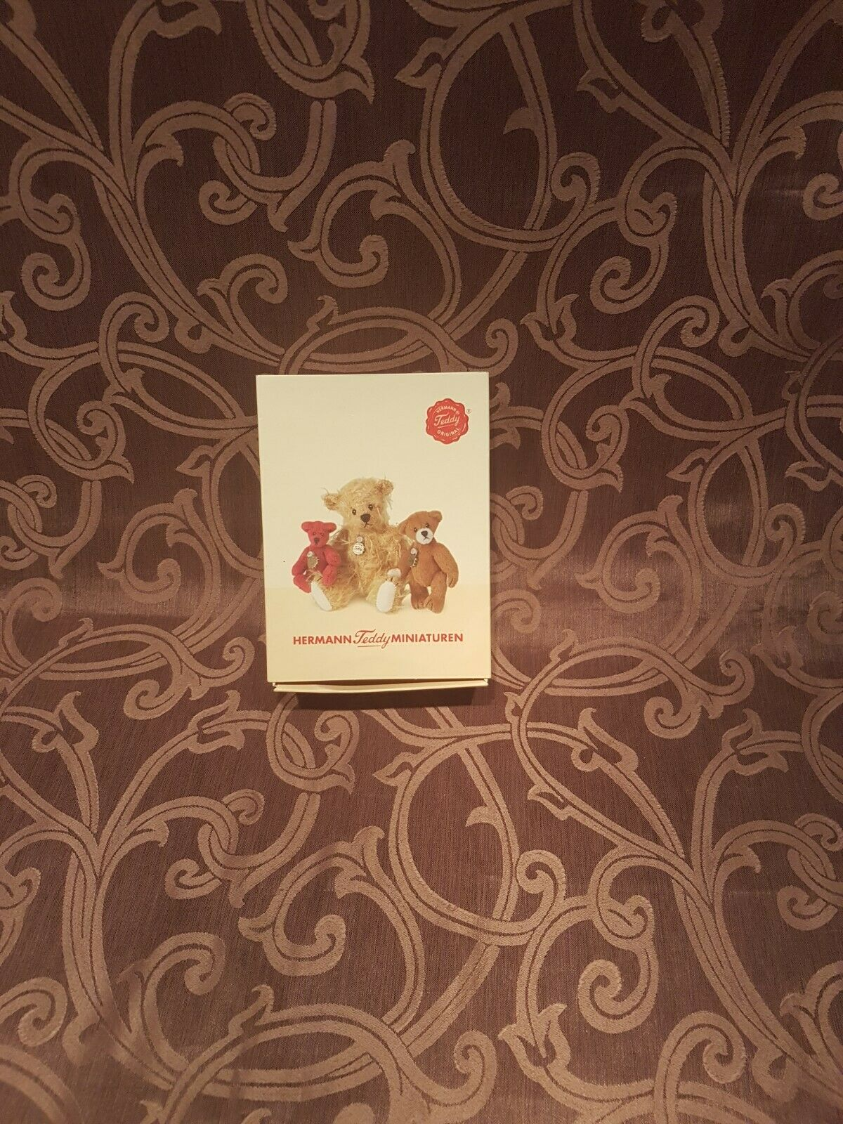 Hermann Teddy Miniaturen Braunbär, Limitierte Edition Nr. 246 von 1000, OVP