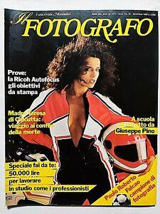 IL FOTOGRAFO N. 79 NOVEMBRE 1983 GIUSEPPE PINO - PAULO ROBERTO FALCAO