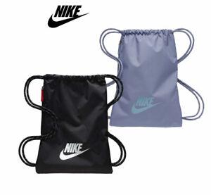 Details about Nike Gymsack heritage 2.0 Sports Training Bag Drawstring PE Team Kit Gym Bag