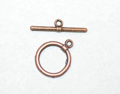 T-cierro mordaza cierre 12 mm metal Bronce 1x bacatus *