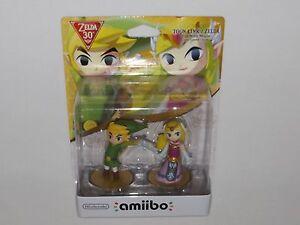 Nintendo amiibo toon link zelda the wind waker us version th