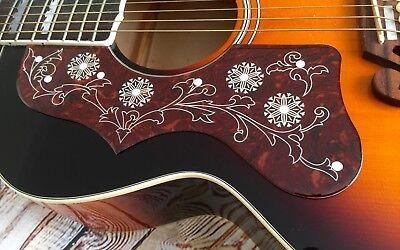 FidgetFidget Pickguard EJ200 Left handed Acoustic Guitar Pick Guard Anti-scratch Plate Black