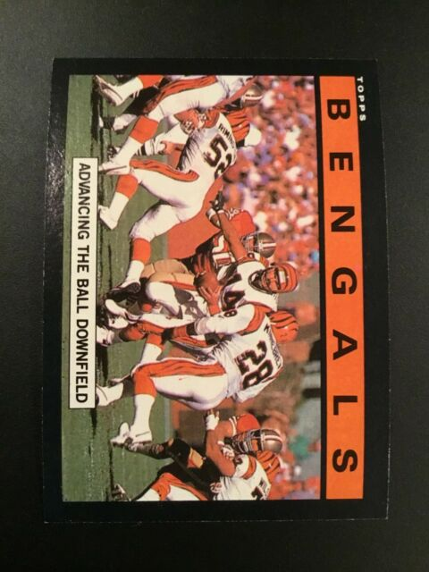 1985 Topps # 209 KEN ANDERSON Cincinnati Bengals TEAM LEADERS  Qty Avail