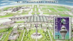 SJ-Malaysia-KL-International-Airport-1998-Aviation-Aeroplane-Airplane-ms-MNH