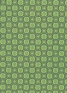 643 grün Kreise Muster Bastelpapier Decoupage 1 Blatt DecoPatch Papier Nr