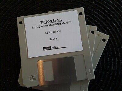 Triton Pro, Triton Pro X Korg Triton Classic Operating system Version 2.53