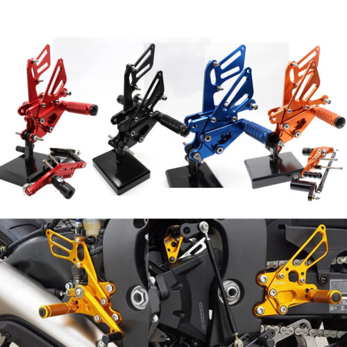 For Honda CBR1000RR ABS 2008-2014 2015 CNC Footpeg Rearsets Footrest Rear Sets