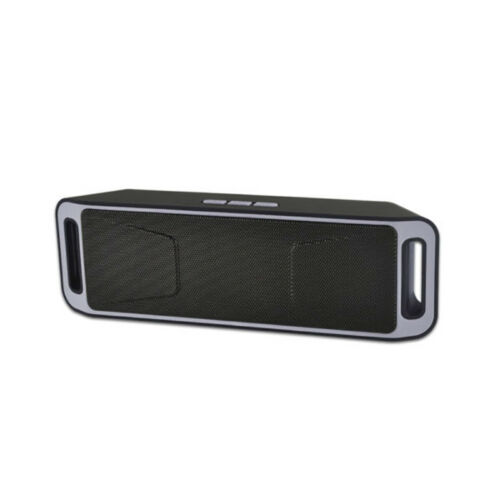 Recharegable Wireless Bluetooth Speaker Portable Outdoor USB//TF//FM Radio Stereo