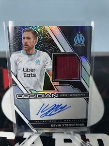 2020 21 2021 Panini Obsidian Soccer Jersey Autograph Auto Kevin Strootman # /149