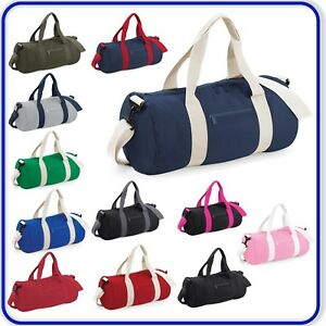 New-Original-Barrel-Sports-Bag-Mens-Ladies-Holiday-Gym-Bag-Travel-Duffle-Bag
