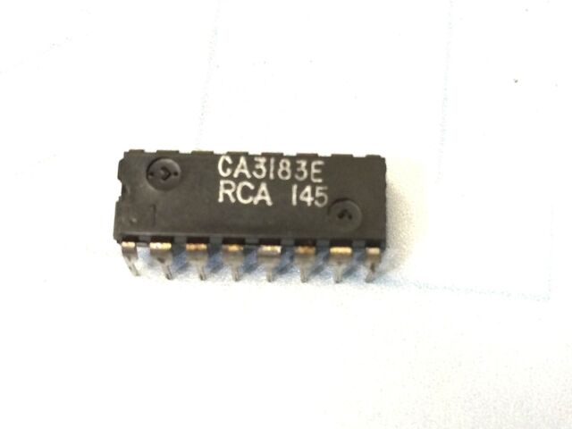 10pcs CA3081 General Purpose High Current NPN Transistor Arrays DIP-16