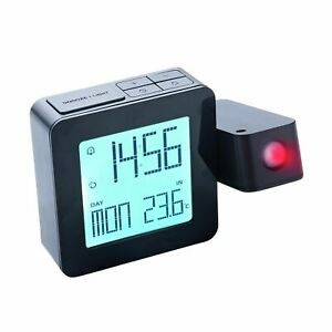Digital Alarm Clock Small Table Desk Clock with 3.3 LCD Display and 7 Color Changing for Kids Travel Bedroom