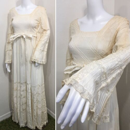 TACHI CASTILLO Dress Size 10 Full Length VINTAGE I