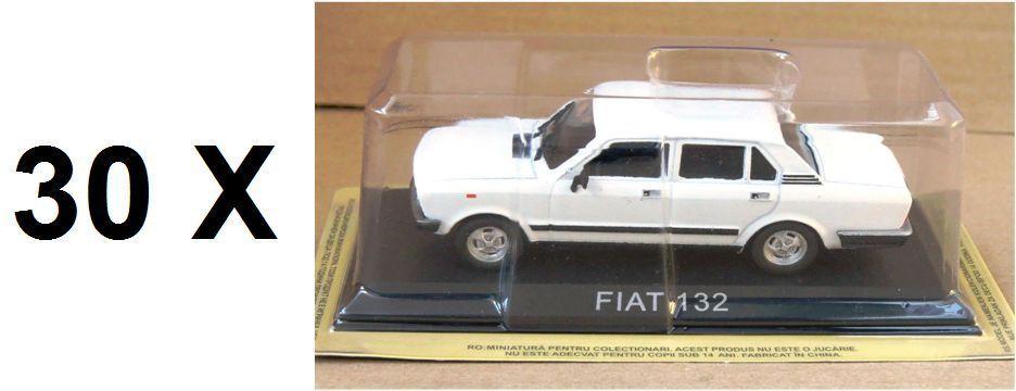 Lotes de 30 coches 1 43 Fiat 132 Diecast Modelo Coche legendario URSS IXO BA7