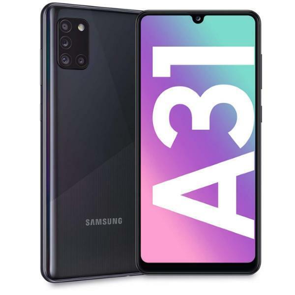 Samsung Galaxy: SAMSUNG GALAXY A31 NERO 64GB ROM 4 GB RAM DISPLAY FULL HD 6.4″ 4G/LTE