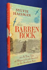 THIS-BARREN-ROCK-Sylvie-Haisman-1875-SHIPWRECK-SUB-ANTARCTIC-CROZET-ISLANDS-book
