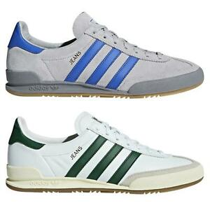 adidas-ORIGINALS-DEADSTOCK-JEANS-TRAINERS-WHITE-GREEN-GREY-SHOES-SNEAKERS-RETRO