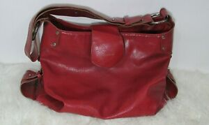 Leather Hobo Handbag Shoulder Bag